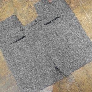 NWOT Levine classic tweed pants